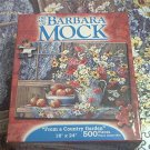 BARBARA MOCK 500 PIECE JIGSAW PUZZLE ~FROM A COUNTRY GARDEN ~COMPLETE~APPLES-FLOWERS