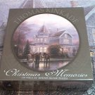 CEACO ROUND JIGSAW PUZZLE ~THOMAS KINKADE~CHRISTMAS MEMORIES~HAS ALL 750 PCS