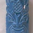 TOMMY BAHAMA RUM ADVERTISING TIKI PINEAPPLE MUG VASE ~BLUE