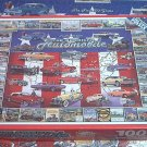WHITE MOUNTAIN AMERICAN AUTOMOBILE 1000 PC JIGSAW PUZZLE~VETTES~CADDIES~MUSTANG~ VTG CARS~COMPLETE