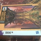 M BRADLEY BIG BEN JIGSAW PUZZLE ~WHITE RIVER NATL FOREST COLORADO USA~COMPLETE
