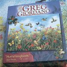 ART OF GREG GIORDANO 500 PC JIGSAW PUZZLE ~HUMMINGBIRDS~COMPLETE