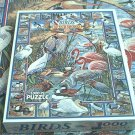 WHITE MOUNTAIN JIGSAW PUZZLE ~BIRDS OF OUR SHORES~COMPLETE~FLAMINGO