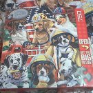 MASTER PIECES 750 PC JIGSAW PUZZLE ~JENNY NEWLAND~HERO'S HELPERS~COMPLETE~DOGS