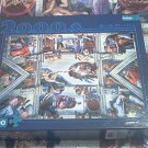 BUFFALO GAMES 2000 PC JIGSAW PUZZLE ~SISTINE CHAPEL~MICHELANGELO~COMPLETE