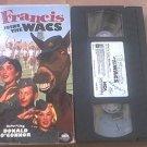 FRANCIS JOINS THE WACS~VHS~DONALD O'CONNOR, MAMIE VAN DOREN~RARE 1954