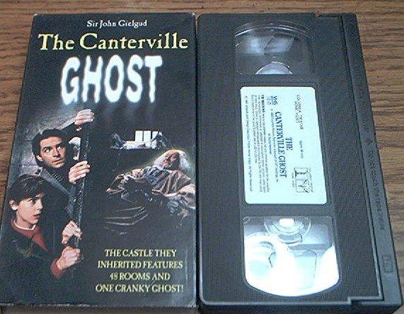 The Canterville Ghost Vhs John Gielgud Alyssa Milano 1986