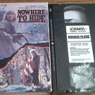 NOWHERE TO HIDE~VHS~AMY MADIGAN, MICHAEL IRONSIDE~1987