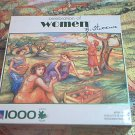 SURELOX CELEBRATION OF WOMEN 1000 PC JIGSAW PUZZLE~WITTWE~APPLE PICKING~COMPLETE