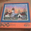 CEACO 500 PC JIGSAW PUZZLE ~JANE WOOSTER SCOTT~KEEPER OF THE LIGHT~CORKBOARD~COMPLETE