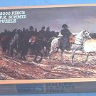 SCHMID 2000 PC JIGSAW PUZZLE ~NAPOLEON ON CAMPAIGN~MEISSONIER~FACTORY SEALED--NEVER OPENED