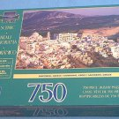 SURELOX 750 PC JIGSAW PUZZLE ~SANTORINI GREECE~FACTORY SEALED--NEVER OPENED