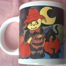CHARMING SCARECROW HALLOWEEN MUG ~ new--unused