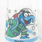 WELCH'S JAM JELLY JUICE COLLECTOR GLASS ~MUPPETS IN SPACE~GONZO THE GREAT BLASTS OFF #4