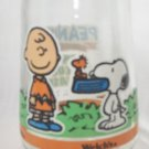 WELCH'S JAM JELLY JUICE COLLECTOR GLASS ~PEANUTS~TWO FOR LUNCH #6~SNOOPY~CHARLIE BROWN