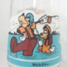 WELCH'S JAM JELLY JUICE DISNEY COLLECTOR GLASS ~A GOOFY MOVIE~FATHER AND SON TIME#5