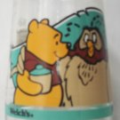 WELCH'S JAM JELLY JUICE DISNEY COLLECTOR GLASS ~POOH'S GRAND ADVENTURE #1