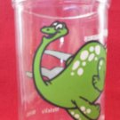 VINTAGE WELCH'S JELLY JAM JUICE COLLECTOR GLASS ~BRONTOSAURUS DINOSAUR