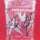 VINTAGE WELCH'S JELLY JAM JUICE COLLECTOR GLASS ~PTERANODON DINOSAUR