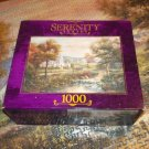 ROSEART SERENITY SERIES 1000 JIGSAW PUZZLE ~CARL VALENTE~VERMONT'S COLONIAL TIMES~COMPLETE