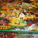 ROSEART HOMETOWN COLLECTION JIGSAW PUZZLE ~HERONIM WYSOCKI~CHESTER COUNTY FAIR~COMPLETE