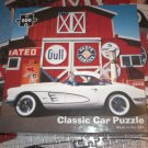 RE-MARKS CLASSIC CAR JIGSAW PUZZLE ~500 PCS~CORVETTE~FREE POSTER INSIDE~COMPLETE