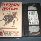 BLOOPERS AND WRECKS, VOL. 1~VHS~RODEO~LONGHORN CHAMPIONSHIP~COWBOYS~BULLS