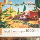 CEACO FOOD LANDSCAPES JIGSAW PUZZLE~CARL WARNER~TUSCAN LANDSCAPE~COMPLETE