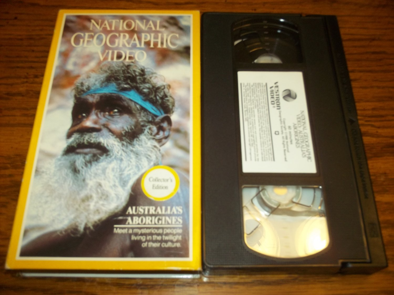 AUSTRALIA'S ABORIGINES~VHS~NATIONAL GEOGRAPHIC VIDEO~1989 DOCUMENTARY