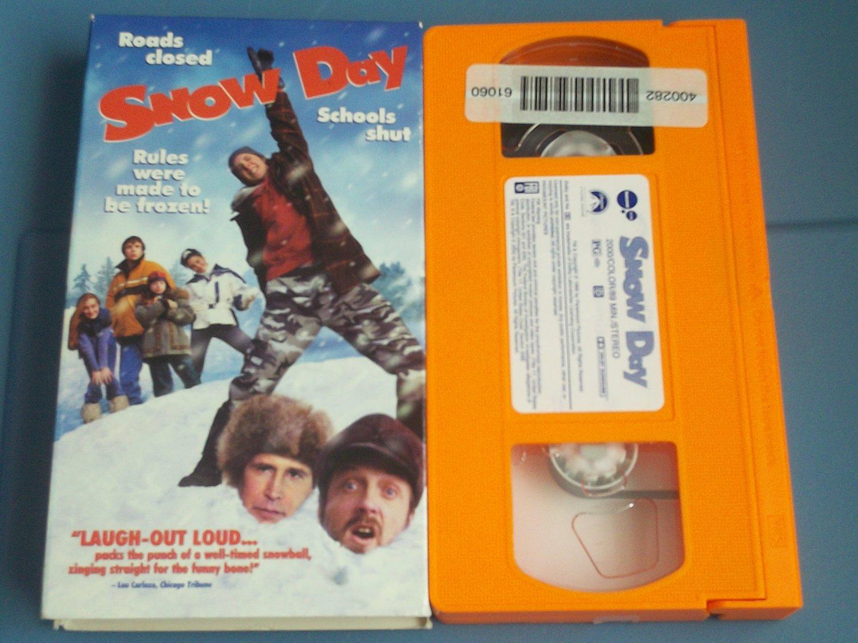 Snow Day Vhs Chevy Chase Chris Elliott Jean Smart 2000