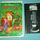 ROBIN HOOD~VHS~WALT DISNEY ANIMATED CLASSIC~CHILDREN~1973 Black Diamond
