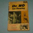 DR NO ~ PAPERBACK BOOK~IAN FLEMING~1963~JAMES BOND FICTION~SPY
