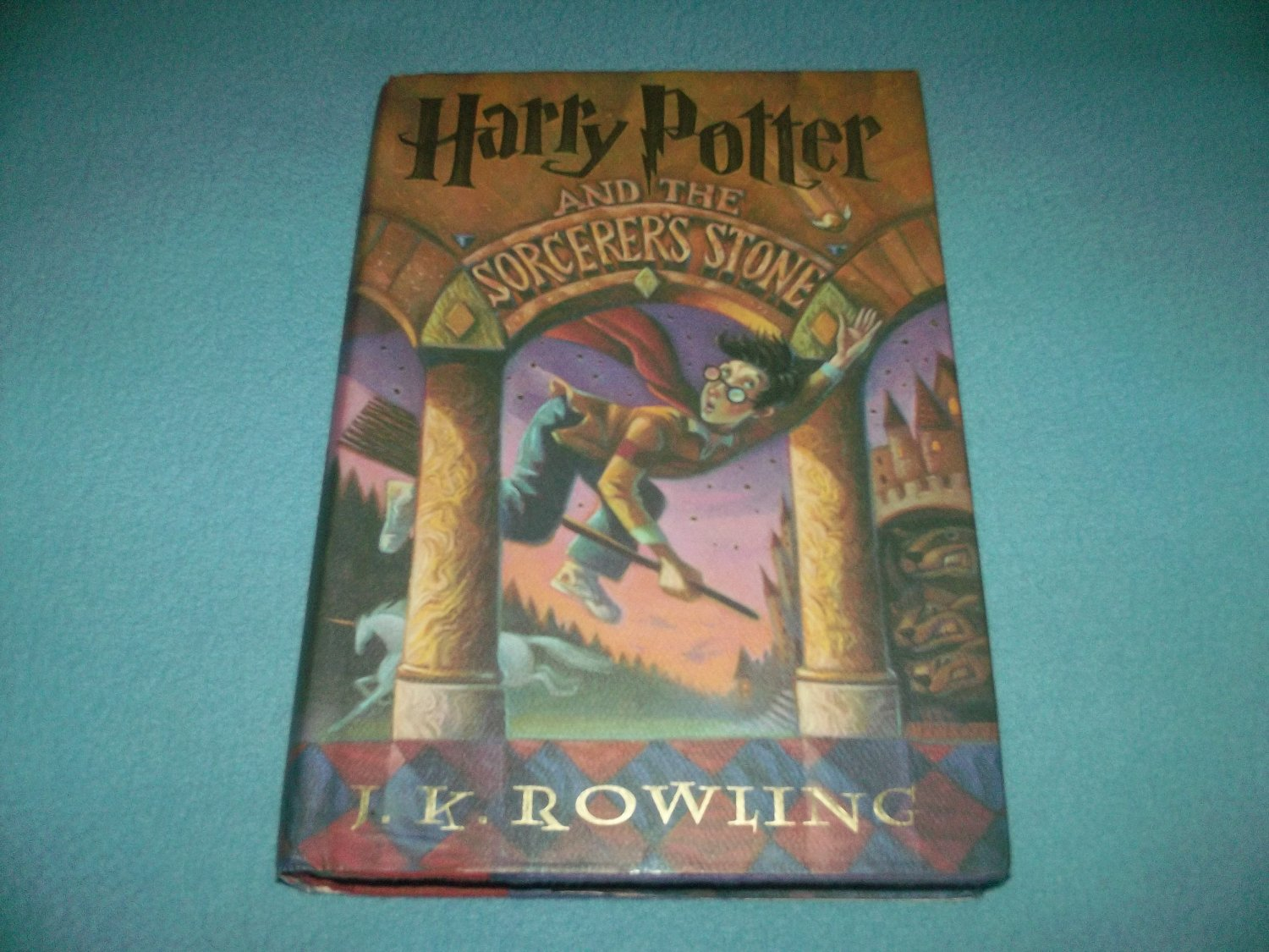 Harry Potter Book Lengths Pages : Harry potter and the sorcerer s stone hc book j k rowling