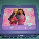 VINTAGE BARBIE~MY WONDERFUL FRIENDS~LUNCH BOX~PLASTIC~1998 NO THERMOS