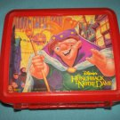 VINTAGE HUNCHBACK OF NOTRE DAME~DISNEY~LUNCH BOX~PLASTIC~ NO THERMOS