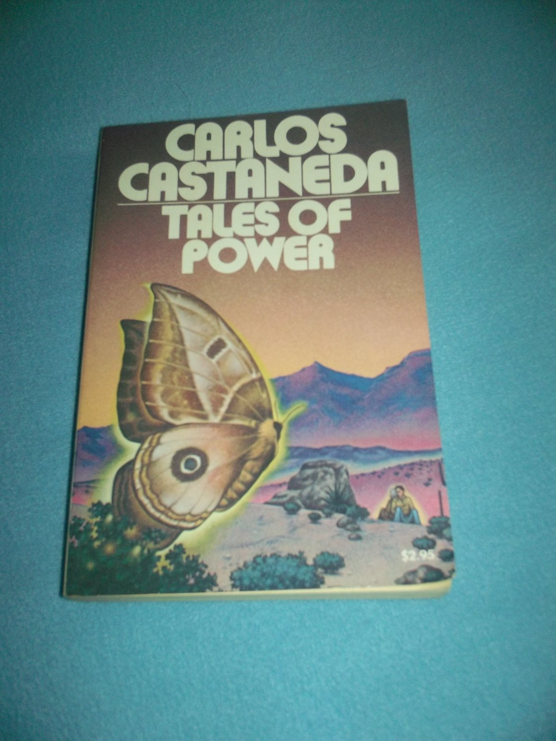 TALES OF POWER~SC BOOK~CARLOS CASTANEDA~1ST ED. TOUCHSTONE 1974