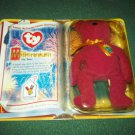 TY MILLENNIUM BEANIE BEAR~MCDONALD'S CHARITIES~1999~MINT IN PACKAGE