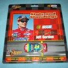 JEFF GORDON NASCAR DIE CAST METAL CAR~MINT ON CARD~WINNER'S CIRCLE~RACING