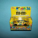 KEN SCHRADER'S #36 NASCAR~M & M'S DIE-CAST METAL CAR~MINT IN BOX 2002 ERTL