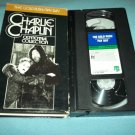 CHARLIE CHAPLIN CENTENNIAL COLLECTION~VHS~THE GOLD RUSH 1925, PAY DAY 1922 ~ CLASSIC
