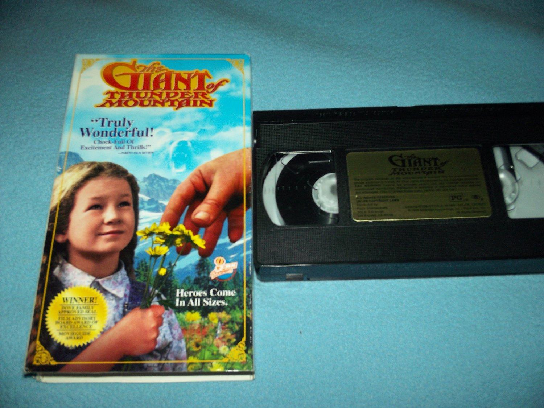 THE GIANT OF THUNDER MOUNTAIN~VHS~RICHARD KIEL, NOLEY THORNTON~1988 FAMILY