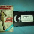 CAPTAIN MIDNIGHT FLIES AGAIN! VOLUME 1 ~VHS~RICHARD WEBB~2 EPISODES~1955
