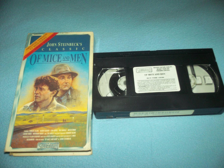 OF MICE AND MEN~VHS~ROBERT BLAKE, - 224.1KB