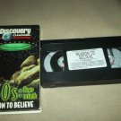 UFOS: DOWN TO EARTH~VHS~DISCOVERY CHANNEL~REASON TO BELIEVE~ALIENS~1996