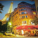 CEACO JIGSAW PUZZLE~AROUND THE WORLD~PARIS, FRANCE~550 PCS~COMPLETE~EIFFEL TOWER