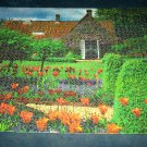 BIG BEN JIGSAW PUZZLE~CHARMING COTTAGE~TULIPS~1500 PCS~ALL PCS.