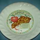 HIMARK GOLDEN PIE APPLE PIE PLATE RECIPE IN CENTER