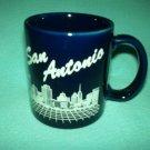 SAN ANTONIO Cobalt Blue SOUVENIR Mug TEXAS