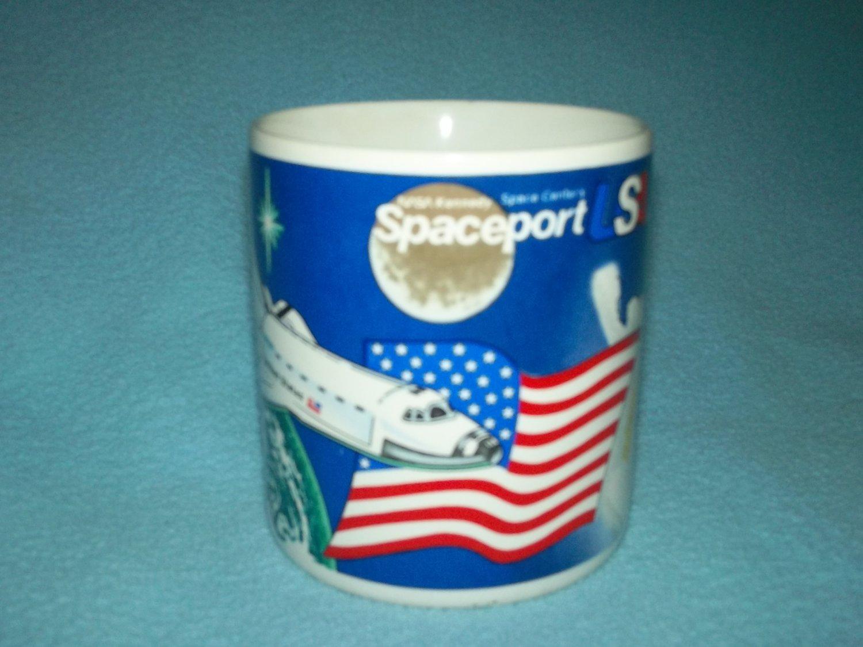 NASA KENNEDY SPACE CENTER SPACEPORT Souvenir MUG Shuttle BECKY