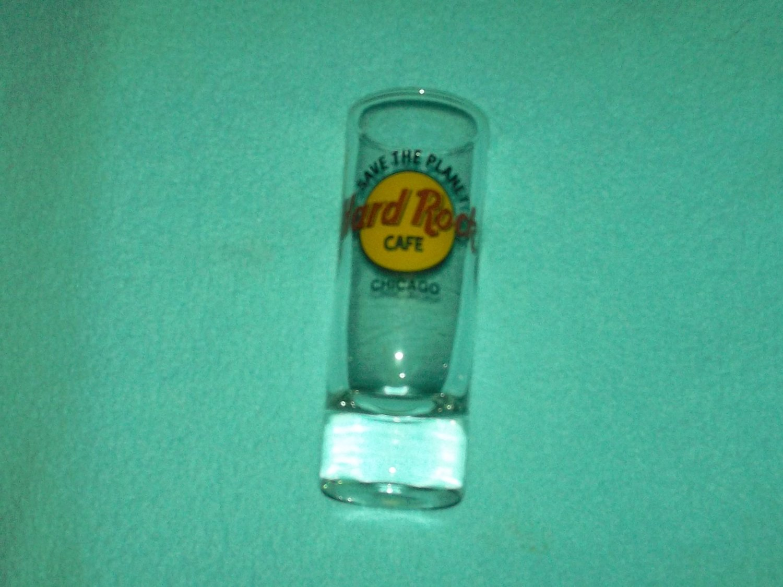 HARD ROCK CAFE Chicago SOUVENIR SHOT GLASS